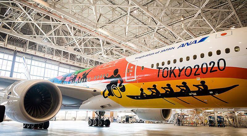 イベント会社のニューズベース|旅客機格納庫であり多くの一般見学者が訪れる ANA機体メンテナンスセンター