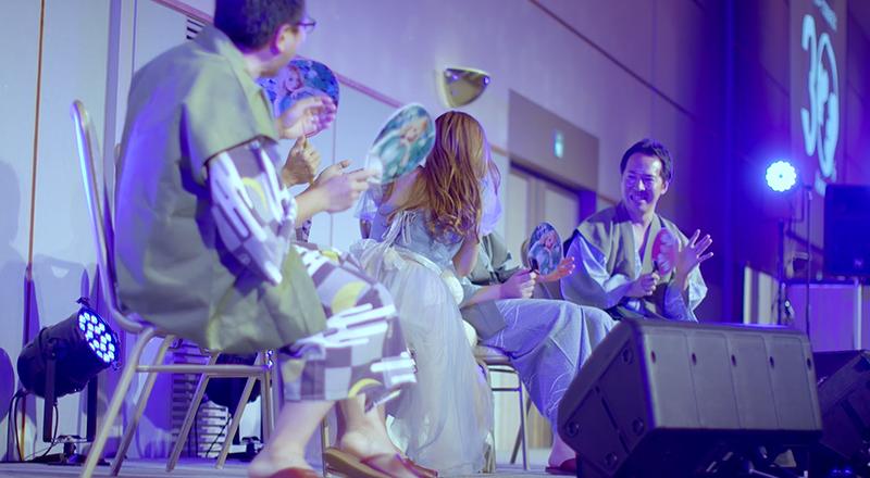 イベント会社のニューズベース|社員を巻き込んでパーティーを盛り上げる出し物