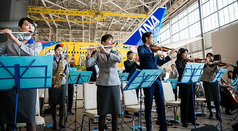 イベント会社のニューズベース|ANAグループ社員によって構成されるオーケストラ「ANA Team HND Orchestra」