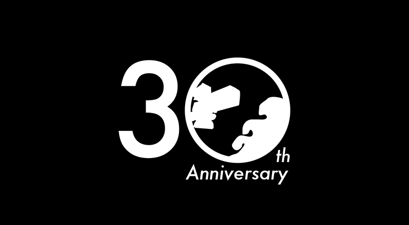 イベント会社のニューズベース|30周年記念イベントのロゴマーク