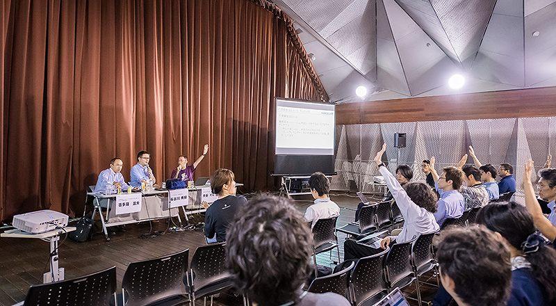 イベント会社のニューズベース|来場者が語りたいテーマを発表するアンカンファレンス形式の登壇ブースも用意しています。