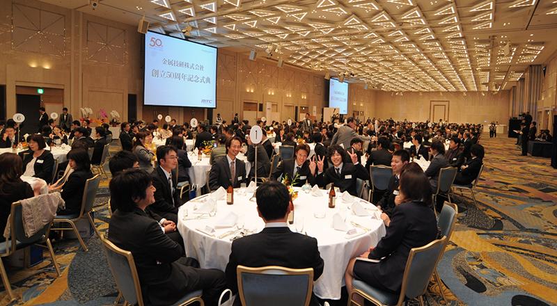 イベント会社のニューズベース|第2部では社内向けの懇親会を開催しました。