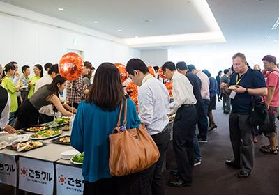 イベント会社のニューズベース|日本に住む外国人の集客、日本の同業メディアとも連携して集客をはかりました。